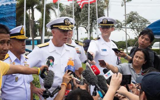 Những hình ảnh ban đầu về diễn tập hải quân Mỹ-ASEAN - Ảnh 4.