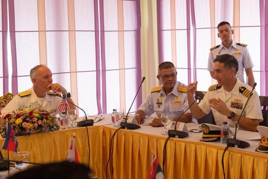 Những hình ảnh ban đầu về diễn tập hải quân Mỹ-ASEAN - Ảnh 8.