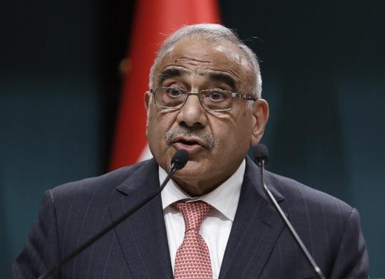 """Thủ tướng Iraq nóng lòng muốn quân đội Mỹ """"cuốn gói"""" - Ảnh 1."""