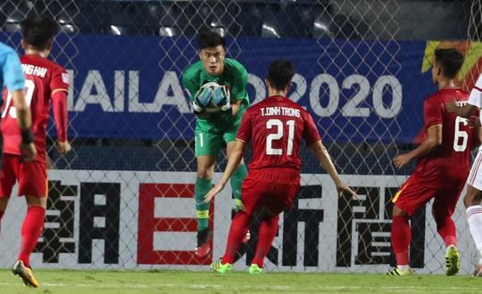 U23 Việt Nam - U23 UAE: Trận hòa tôn vinh hàng thủ - Ảnh 1.