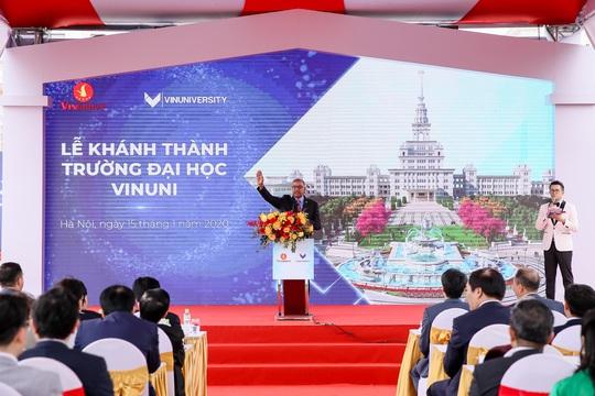 Khánh thành trường đại học ngàn tỉ có tham vọng trở thành trường hàng đầu thế giới - Ảnh 7.