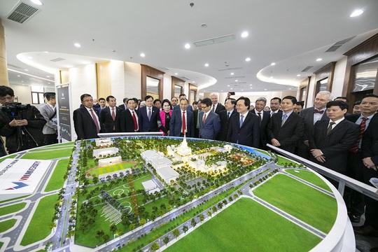 Khánh thành trường đại học ngàn tỉ có tham vọng trở thành trường hàng đầu thế giới - Ảnh 14.