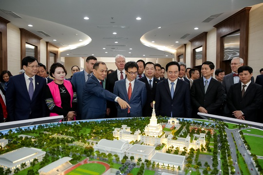 Khánh thành trường đại học ngàn tỉ có tham vọng trở thành trường hàng đầu thế giới - Ảnh 15.