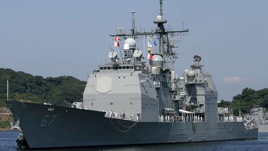 Đài Loan vừa bầu cử xong, tàu chiến Mỹ qua eo biển - Ảnh 1.