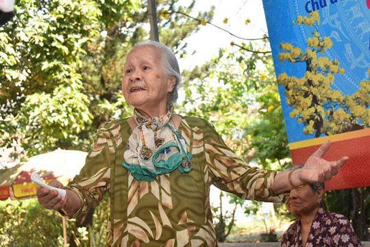 Mai Vàng nhân ái mang Tết đến nghệ sĩ lão thành - Ảnh 2.
