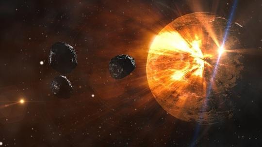 May mắn ngay ngày 1-1, trái đất thoát khỏi một cú nổ lớn với 4 tiểu hành tinh - Ảnh 1.