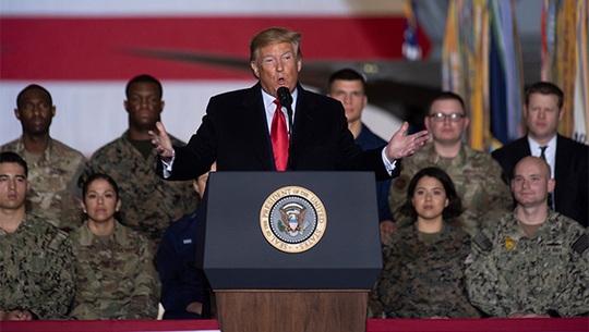 Tổng thống Trump ra lệnh không kích giết tướng Soleimani như thế nào? - Ảnh 1.
