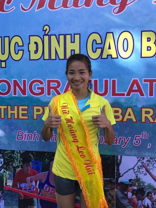Chân chạy số 1 Việt Nam lên ngôi Nữ hoàng leo núi Bà Rá - Ảnh 4.