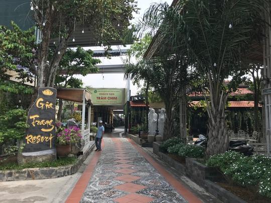 Cưỡng chế Gia Trang quán - Tràm Chim Resort - Ảnh 1.