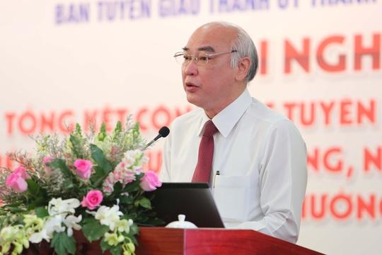 Năm 2020, Ban Tuyên giáo Thành ủy TP HCM tiếp tục tham mưu hoàn thiện phương án sắp xếp báo chí - Ảnh 1.