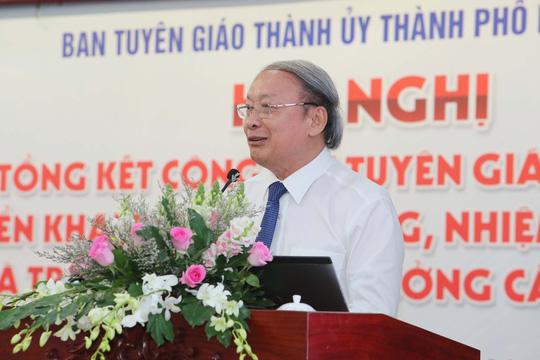 Năm 2020, Ban Tuyên giáo Thành ủy TP HCM tiếp tục tham mưu hoàn thiện phương án sắp xếp báo chí - Ảnh 2.