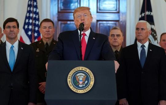 Iran cố tình bắn trượt, tổng thống Mỹ muốn xuống thang? - Ảnh 2.