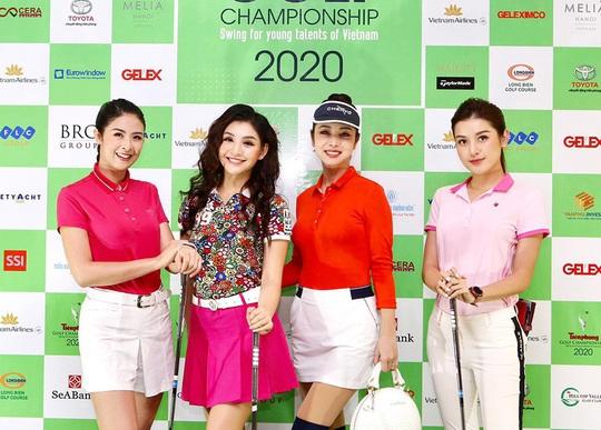 Nhiều hoa hậu, á hậu tranh tài tại giải Golf có giải thưởng 6 tỉ đồng - Ảnh 2.