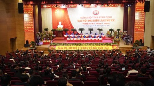 Ông Hoàng Trung Hải dự khai mạc Đại hội Đại biểu Đảng bộ tỉnh Bình Định  - Ảnh 2.