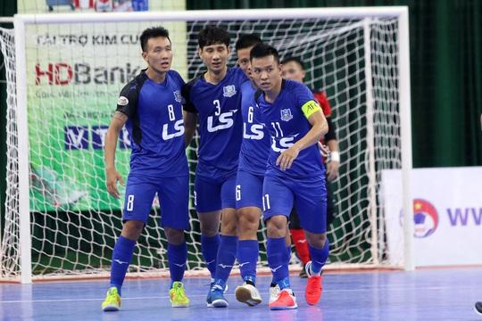 CLB Thái Sơn Nam đăng quang sớm - Ảnh 1.