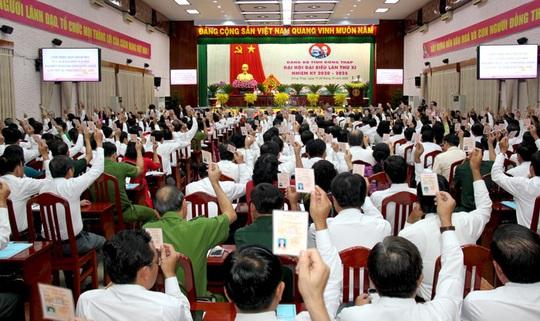 Khai mạc phiên trù bị Đại hội Đảng bộ tỉnh Đồng Tháp - Ảnh 4.