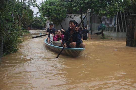Lũ trên các sông ở Quảng Nam đạt đỉnh trong hôm nay - Ảnh 1.