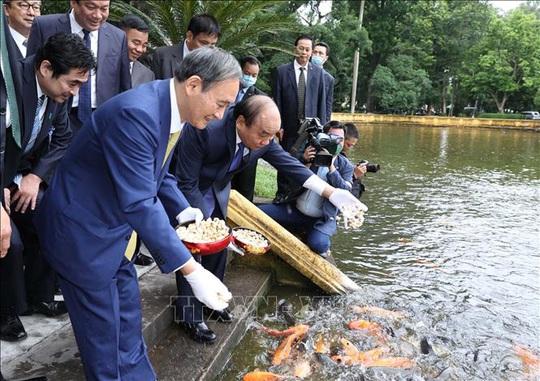 Thủ tướng Nhật Bản thăm Nhà sàn, Ao cá Bác Hồ - Ảnh 6.