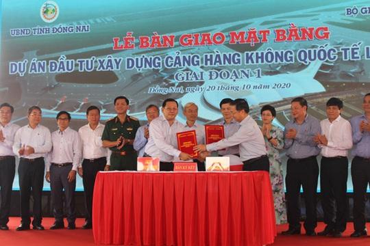 Giao 2.589 ha đất để xây sân bay Long Thành - Ảnh 1.