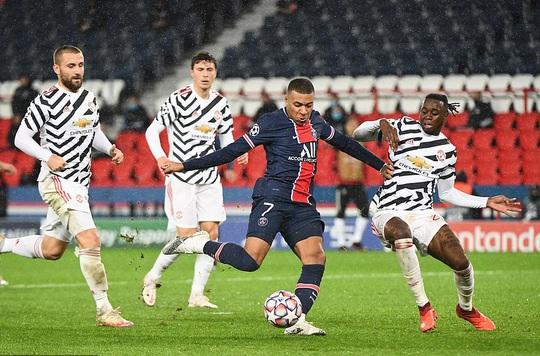 Hàng công khủng tịt ngòi, PSG gục ngã sân nhà trước Man United - Ảnh 1.