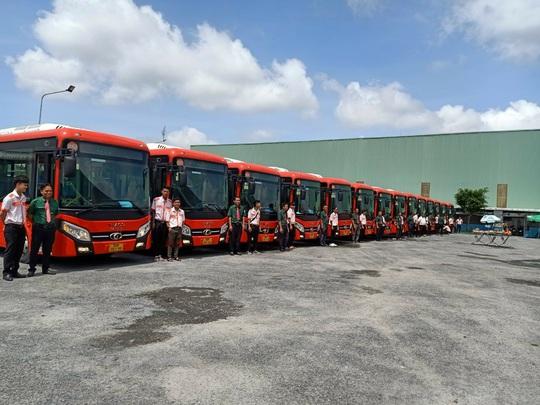 Phương Trang khai trương 9 tuyến xe buýt không trợ giá ở Đồng Tháp - Ảnh 1.
