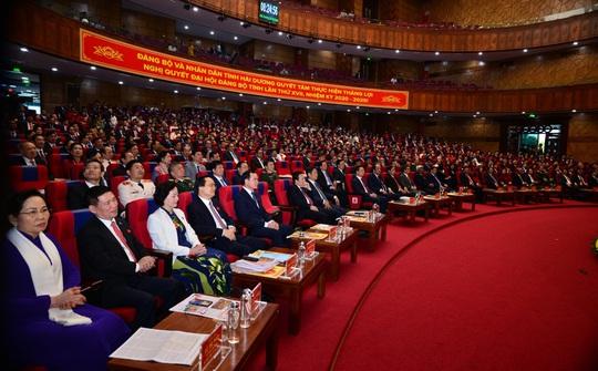 Khai mạc Đại hội đại biểu Đảng bộ tỉnh Hải Dương lần thứ XVII - Ảnh 1.