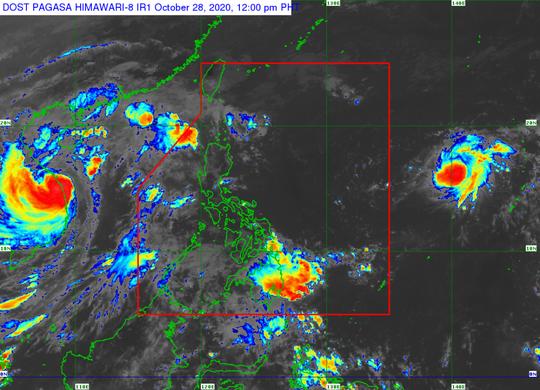 Dự báo bão số 10 đang hình thành, tiến vào biển Đông - Ảnh 1.