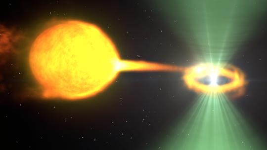 Ánh sáng lạ dẫn đường, kinh hãi phát hiện góa phụ đen vũ trụ - Ảnh 1.