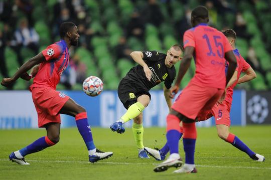 Người nhện Mendy lập kỷ lục, Chelsea đại thắng trên đất Nga - Ảnh 1.