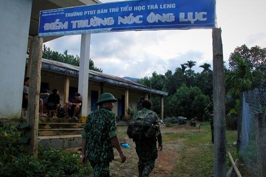 Hiện trường vụ sạt lở kinh hoàng tại Trà Leng - Quảng Nam - Ảnh 3.
