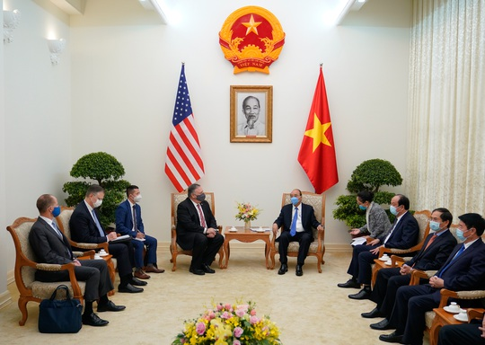 Hình ảnh chuyến thăm Việt Nam của Ngoại trưởng Mỹ Mike Pompeo - Ảnh 3.