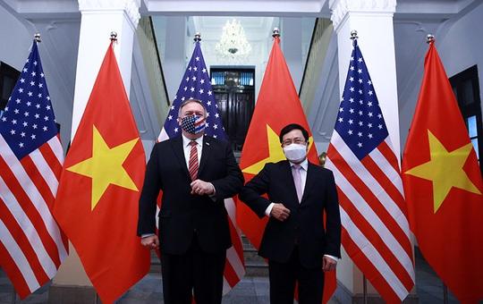 Hình ảnh chuyến thăm Việt Nam của Ngoại trưởng Mỹ Mike Pompeo - Ảnh 5.