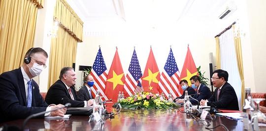 Hình ảnh chuyến thăm Việt Nam của Ngoại trưởng Mỹ Mike Pompeo - Ảnh 13.