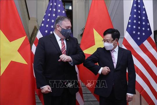 Hình ảnh chuyến thăm Việt Nam của Ngoại trưởng Mỹ Mike Pompeo - Ảnh 9.