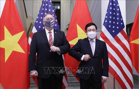 Hình ảnh chuyến thăm Việt Nam của Ngoại trưởng Mỹ Mike Pompeo - Ảnh 11.