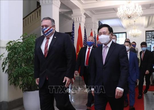 Hình ảnh chuyến thăm Việt Nam của Ngoại trưởng Mỹ Mike Pompeo - Ảnh 6.