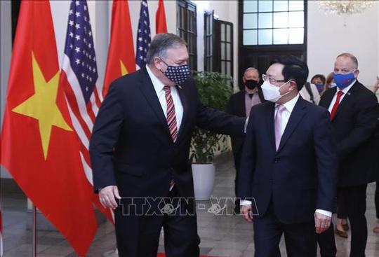 Hình ảnh chuyến thăm Việt Nam của Ngoại trưởng Mỹ Mike Pompeo - Ảnh 8.