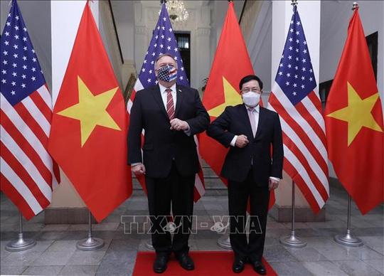 Hình ảnh chuyến thăm Việt Nam của Ngoại trưởng Mỹ Mike Pompeo - Ảnh 10.