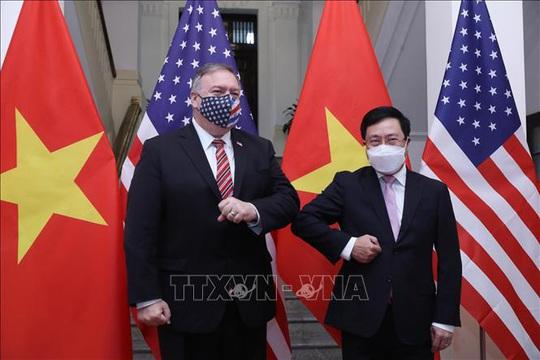 Hình ảnh chuyến thăm Việt Nam của Ngoại trưởng Mỹ Mike Pompeo - Ảnh 12.