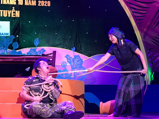 Hai kép độc Khánh Tuấn, Thanh Sơn gây ấn tượng tại cuộc thi Trần Hữu Trang - Ảnh 2.