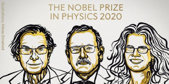 Giải Nobel Vật lý 2020 ghi nhận phát hiện về hố đen vũ trụ - Ảnh 1.