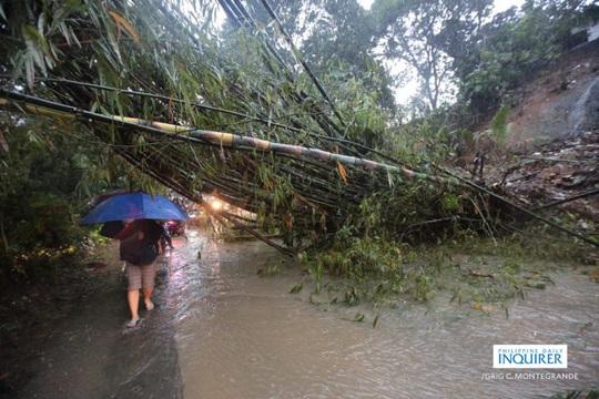 Philippines phải dùng cả xe đổ bộ tấn công để cứu hộ trong bão Vamco - Ảnh 3.