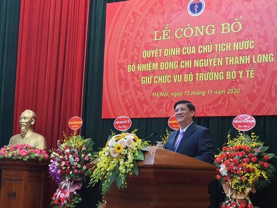 Thủ tướng trao quyết định bổ nhiệm ông Nguyễn Thanh Long làm Bộ trưởng Bộ Y tế - Ảnh 3.