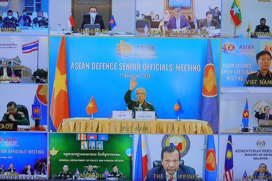 Thượng tướng Nguyễn Chí Vịnh chủ trì hội nghị Quan chức quốc phòng cấp cao ASEAN - Ảnh 1.