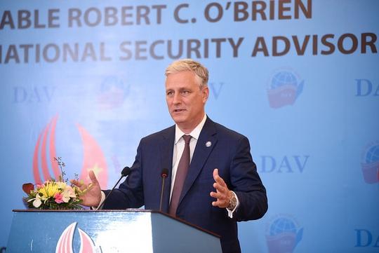 Cố vấn An ninh Quốc gia Mỹ nói chuyện với sinh viên: Quan hệ Việt-Mỹ còn vững mạnh hơn - Ảnh 11.