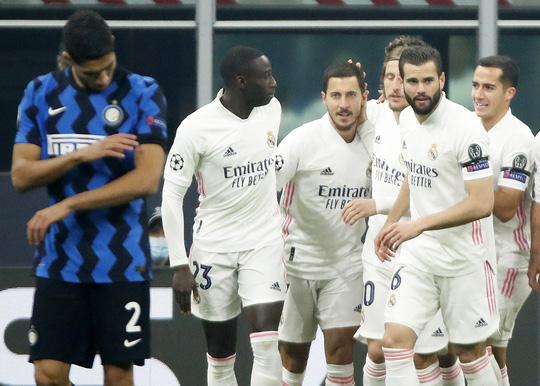 Thẻ đỏ tai hại, Inter Milan trắng tay trước Real Madrid trên sân nhà - Ảnh 8.