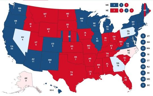 Bầu cử Mỹ: Toà án Tối cao yêu cầu Pennsylvania kiểm riêng phiếu đến muộn - Ảnh 2.