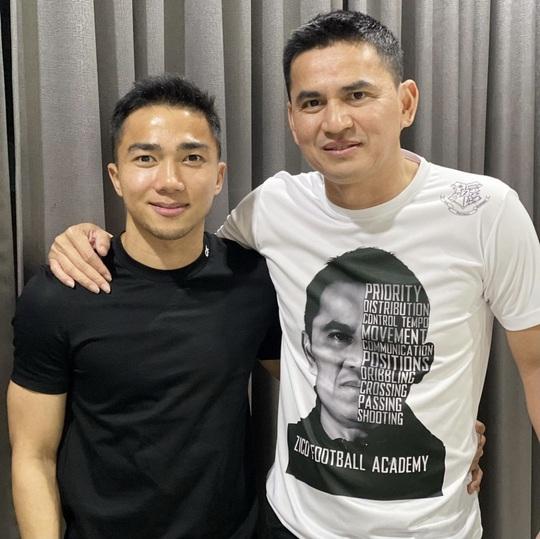 HLV Kiatisuk gặp Messi Thái trước khi sang dẫn dắt HAGL - Ảnh 1.