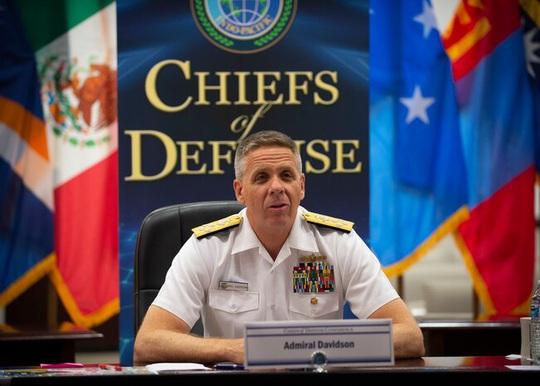 """Đô đốc Mỹ """"nóng mặt"""" vì Trung Quốc hủy họp không lý do - Ảnh 1."""