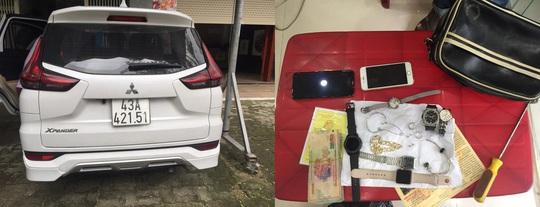 Đà Nẵng: Bắt đối tượng lái ôtô 7 chỗ đi trộm cắp gần nửa tỉ đồng - Ảnh 2.